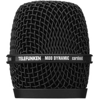 Telefunken Replacement Grill for the Telefunken M80 Dynamic Microphone (Black)