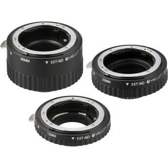 Vello Auto Extension Tube Set for Nikon
