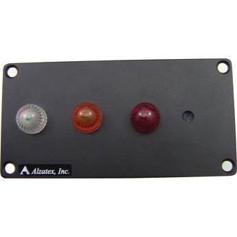 alzatex RYG13AB Flush-Mount Red-Yellow-Green Unit (Black)