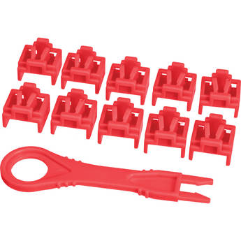 NTW PortBlocker 10-Pack (Red)