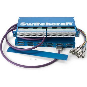 Switchcraft StudioPatch 9625 96-Point Bantam/TT to DB-25 Patchbay