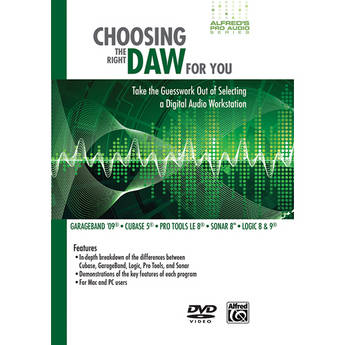 ALFRED DVD: Choosing the Right DAW for You