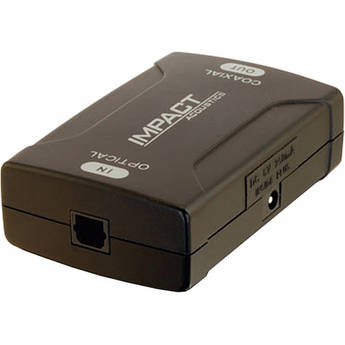 C2G Optical to S/PDIF Coaxial Digital Audio Converter (Black)