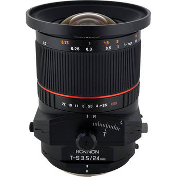 Rokinon Tilt-Shift 24mm f/3.5 ED AS UMC Lens for Nikon