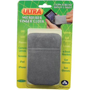 ULTRA SCREEN CLEANER Microfiber Finger Cloth