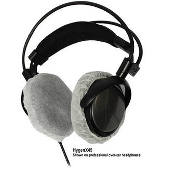 HamiltonBuhl HYGENX45 HygenX Sanitary Headphone Covers for Over-Ear Headsets (50 Pairs)