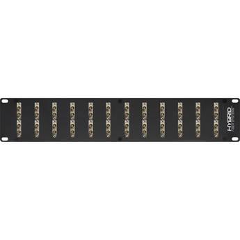 Camplex 24-Port Duplex ST Single-Mode Fiber Feedthrough Rackmount Panel