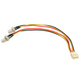 "StarTech TX3 Fan Power Splitter Y-Cable (6"")"