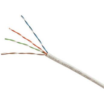 Cmple Cat 5e Bulk Ethernet LAN Network Cable (1000' / White / Pull Box)