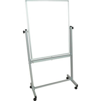 """Luxor MB3040WW Mobile Magnetic Reversible Whiteboard (30 x 39.5"""")"""