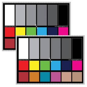 DGK Color Tools DKK Color Calibration Chart Set
