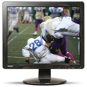 """Orion Images Economy Series 19"""" Rack-Mountable LCD CCTV Monitor"""