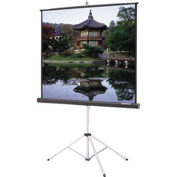 "Da-Lite 40131 Picture King Tripod Front Projection Screen (70x70"")"