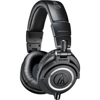 Audio-Technica ATH-M50x Closed-Back Monitor Headphones (Black)