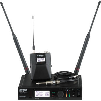 Shure ULX-D Digital Wireless Bodypack Instrument Kit (H50: 534 to 598 MHz)
