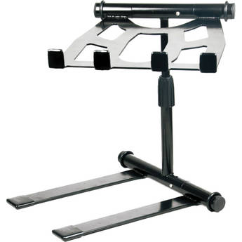Pyle Pro Universal Foldable Laptop Stand with Telescopic Height Adjustment