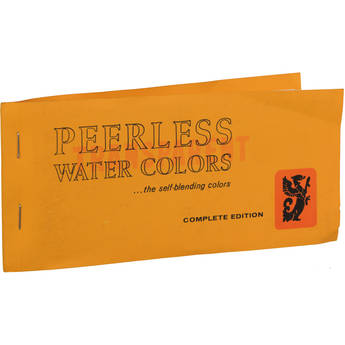 PEERLESS-COLOR Transparent Water Colors: Complete Edition Book for Coloring B&W Prints and Retouching Color Prints and Slides - 15 Sheets