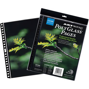 """Itoya Art Profolio PolyGlass Pages (11 x 17"""", 10-Pack)"""