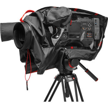 Manfrotto RC-1 Pro Light Video Camera Raincover for Full Size Camcorder / DSLR Rig (Black)