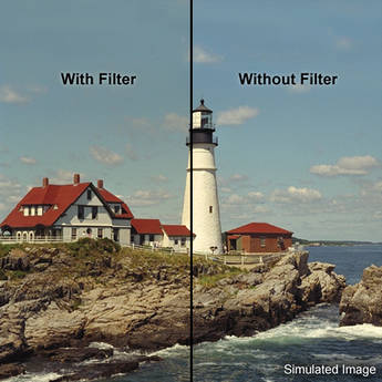 """LEE Filters 4x4"""" Coral 1 Warming Resin Filter"""