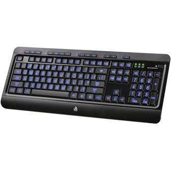 AZIO KB505U Large Print Tri-Color LED USB Keyboard
