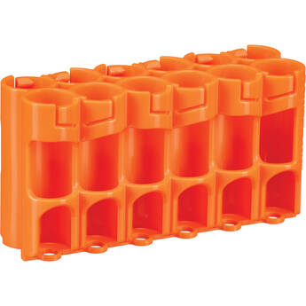 STORACELL 12 AA Pack Battery Caddy (Orange)