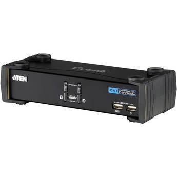 ATEN CubiQ CS1762A USB 2.0 DVI KVMP Switch