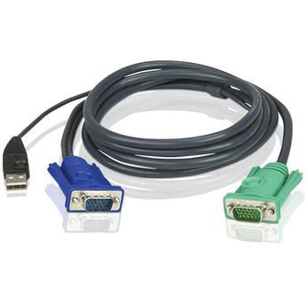 ATEN 2L-5202U USB KVM Cable (6')