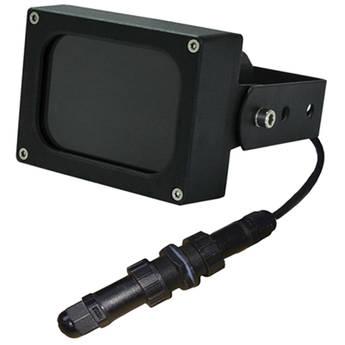 Iluminar IRC132-PoE Series Short Range 850nm IR PoE Illuminator for True Day/Night CCTV Camera (120°, Black)
