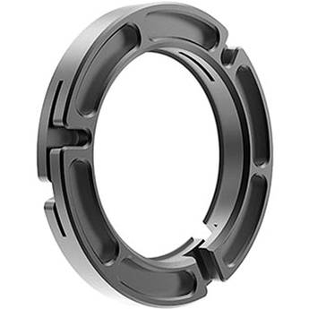 Bright Tangerine 114 to 80mm Clamp-On Ring for Misfit Matte Box