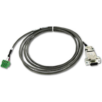 Magenta 4-Pin Phoenix to DB9 Female Serial Data Cable (6')