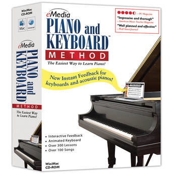 eMedia Music Piano and Keyboard Method v3 for Windows  (Electronic Download)