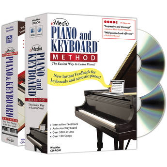 eMedia Music Piano and Keyboard Method Deluxe for Mac (Electronic Download)
