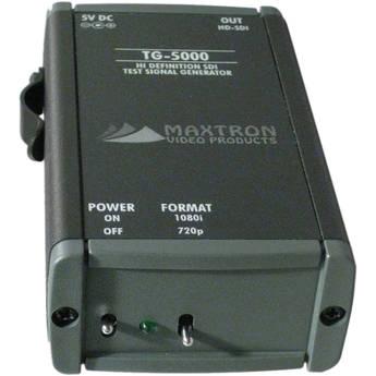 Maxtron TG-5000A Dual-Format HD-SDI Pattern Generator