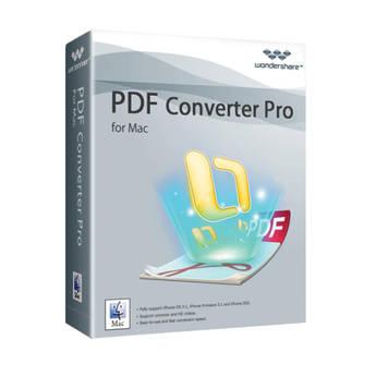 Wondershare PDF Converter Pro v3.5 for Mac (Download)