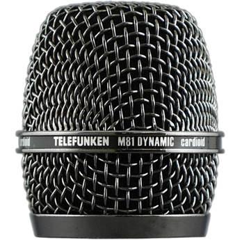 Telefunken HD03 Head Grille for M81 Microphone (Black Nickel)