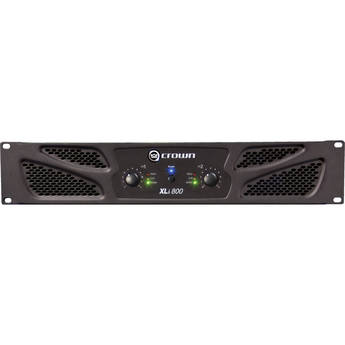 Crown Audio XLi 800 Stereo Power Amplifier