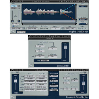 Waves SoundShifter - Pitch and Time-Shift Plug-In (Native/SoundGrid, Download)