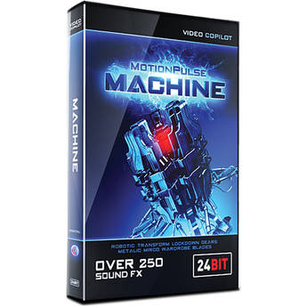 Video Copilot MotionPulse Machine Pack - Mechanical Sound Effects (Download)
