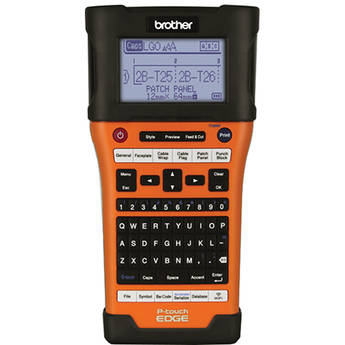 Brother PT-E550W Industrial Wireless Handheld Labeling Tool