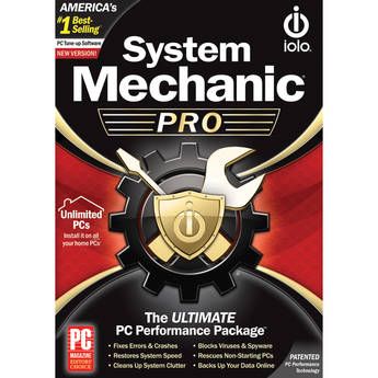 iolo technologies System Mechanic Pro 1-Year Subscription (Unlimited PCs)
