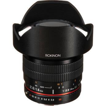 Rokinon 14mm f/2.8 IF ED UMC Lens For Pentax K