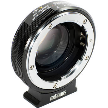 Metabones Speed Booster XL 0.64x Adapter for Nikon G Lens to Select Micro Four Thirds-Mount Cameras