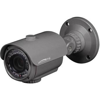 Speco Technologies HD-TVI Indoor/Outdoor Bullet Camera with 2.8-12mm Varifocal Lens, IR LEDs