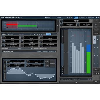 MeldaProduction MMultiBandPhaser - Multiband Phaser Plug-In (Download)