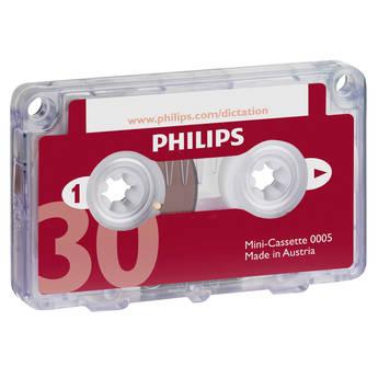 Philips 30-Minute Mini Cassette Tape (Single)