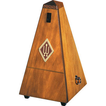 WITTNER 813M Metronome in Wood Casing, with Bell (Walnut, Mat Silk)