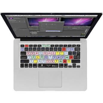 KB Covers Premiere Pro Keyboard Cover for MacBook, MacBook Air & MacBook Pro (Unibody, Black Keys)