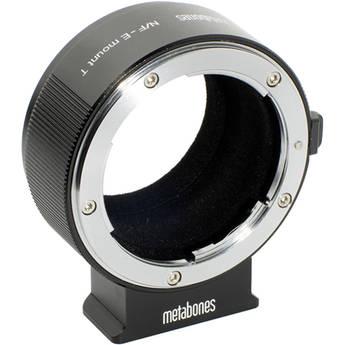 Metabones Nikon F Lens to Sony E-mount Camera T Adapter II (Black)