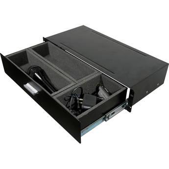 Grundorf 75-110 Compact Rack Drawer for Wireless Racks (2 RU)
